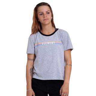 Camiseta Feminina Element Candy Tee Cinza