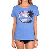 Camiseta Feminina Rip Curl Azul GTE0099