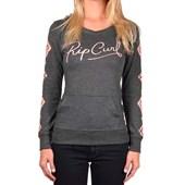 Camiseta Feminina Rip Curl Hi Desert Cinza Com Capuz