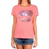 Camiseta Feminina Rip Curl Rosa GTE0099