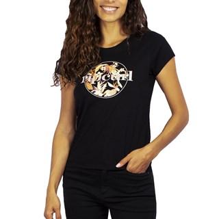 Camiseta Feminina Rip Curl Tallows Mix Preta