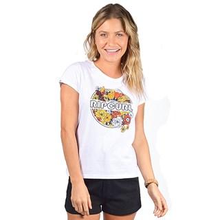 Camiseta Feminina Rip Curl Tropic Days 2 Branca
