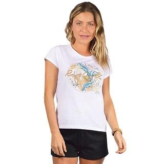 Camiseta Feminina Rip Curl Tropic Days Branca