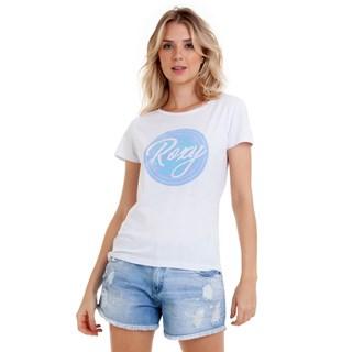 Camiseta Feminina Roxy Bang Branca