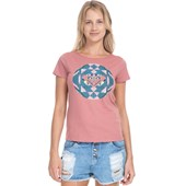 Camiseta Feminina Roxy Color Explosion Rose