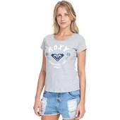 Camiseta Feminina Roxy New Palms Cinza
