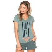 Camiseta Feminina Roxy Nice Way Verde