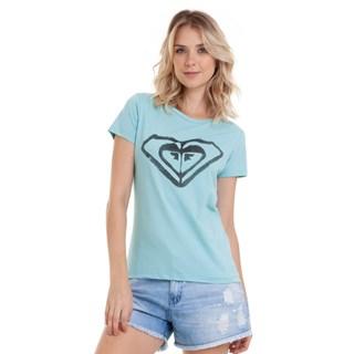 Camiseta Feminina Roxy This Fine Verde Água
