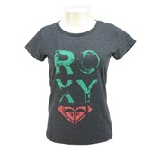 Camiseta Feminina Roxy This Time Cinza