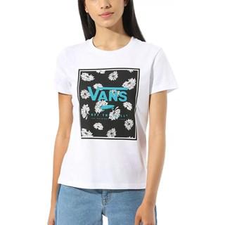 Camiseta Feminina Vans Boxed In Flop Branca