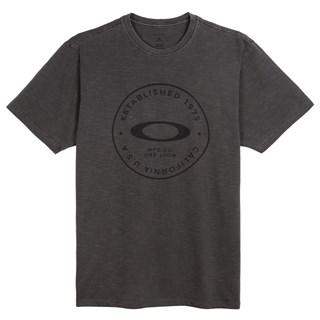 Camiseta Fraction Washed Tee Cinza Escuro