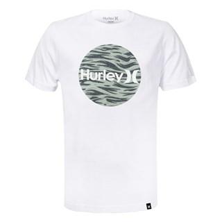 Camiseta Hurley Camouflage Branca