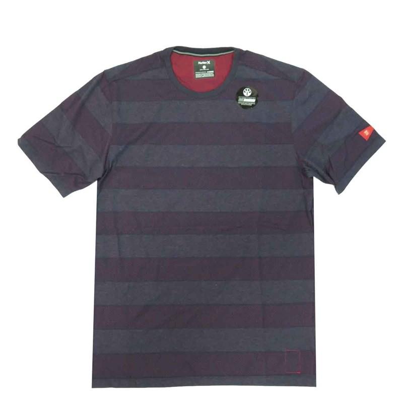 Camiseta Hurley Nike Dri-Fit John John Florence Azul - Back Wash 5a0c686ce29b8