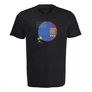 Camiseta Hurley Stranger Tides Preta