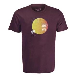 Camiseta Hurley Stranger Tides Roxa