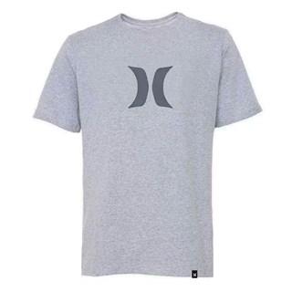 Camiseta Hurley Tamanho Especial Mini Logo Cinza