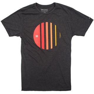 Camiseta Masculina Billabong Depth Cinza