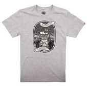 Camiseta Masculina Element Anonymous Cinza