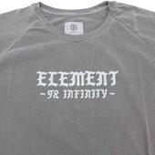 Camiseta Masculina Element Infinity Cinza