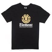 Camiseta Masculina Element Vertical Preta