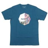 Camiseta Masculina Hurley Azul 635021