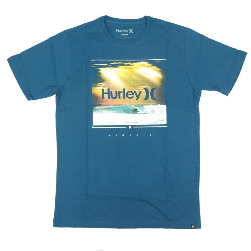 Camiseta Masculina Hurley Azul - Compre na Back Wash! d8141cc6a49