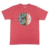 Camiseta Masculina Hurley Bordô