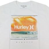 Camiseta Masculina Hurley Branca