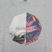 Camiseta Masculina Hurley Cinza Mescla 635021