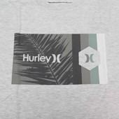 Camiseta Masculina Hurley Silk Cinza Mescla Plus Size