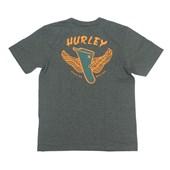 Camiseta Masculina Hurley Silk Ridin Cinza