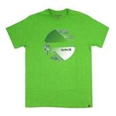 Camiseta Masculina Hurley Verde Mescla 635005