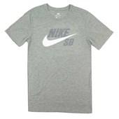 Camiseta Masculina Nike SB Dri-Fit Cinza