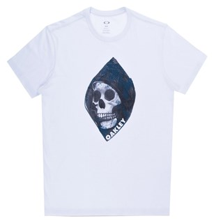 Camiseta Masculina Oakley Fearful California Branca