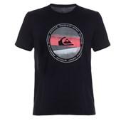 Camiseta Masculina Quiksilver Last Tree Preta