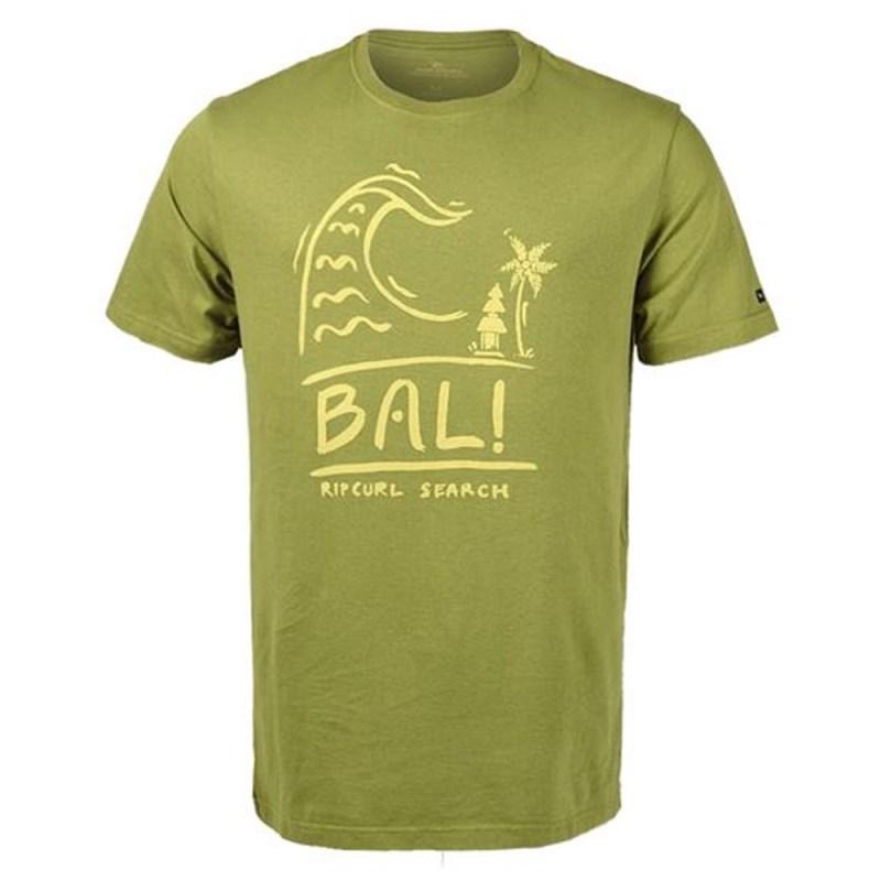 dbcdcc8ee2ee2 Camiseta Masculina Rip Curl Bali Verde - Back Wash