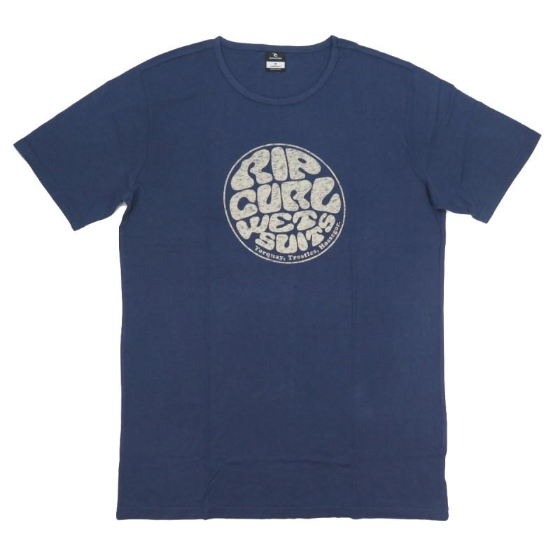 Camiseta Masculina Rip Curl Especial Vaporcool Azul