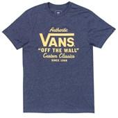 Camiseta Masculina Vans Holder Street Azul