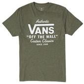 Camiseta Masculina Vans Holder Street Verde