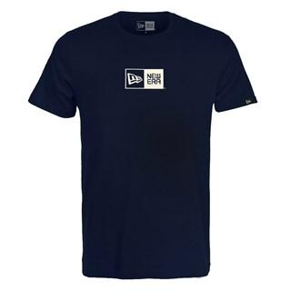 Camiseta New Era Essential Box Azul Marinho