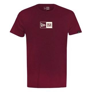 Camiseta New Era Essential Box Vinho