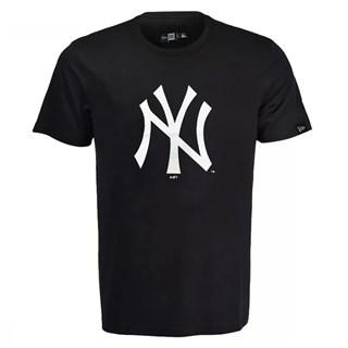 Camiseta New Era MLB New York Yankees Logo Preta