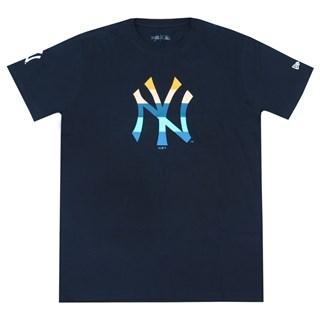 Camiseta New Era NY Yankees Azul Marinho