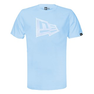 Camiseta New Era Summer Times Sketch Azul