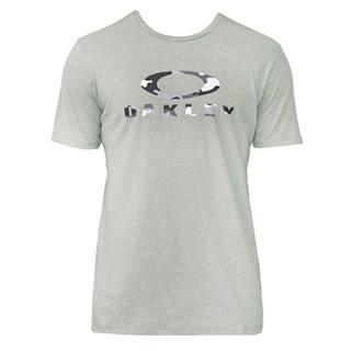 Camiseta Oakley Camo Ss Tee Cinza Esverdeado
