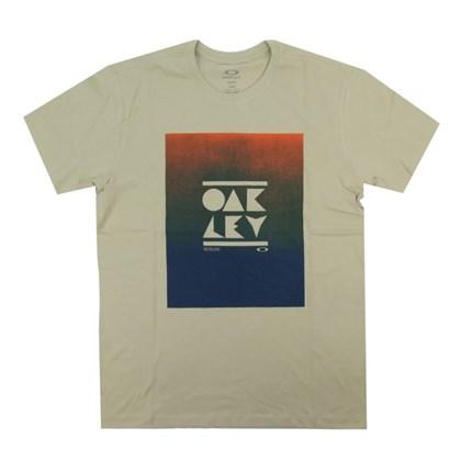 Camiseta Oakley Geo Subtraction Wood Gray