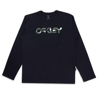 Camiseta Oakley Manga Longa Mark II Ls Tee Preta