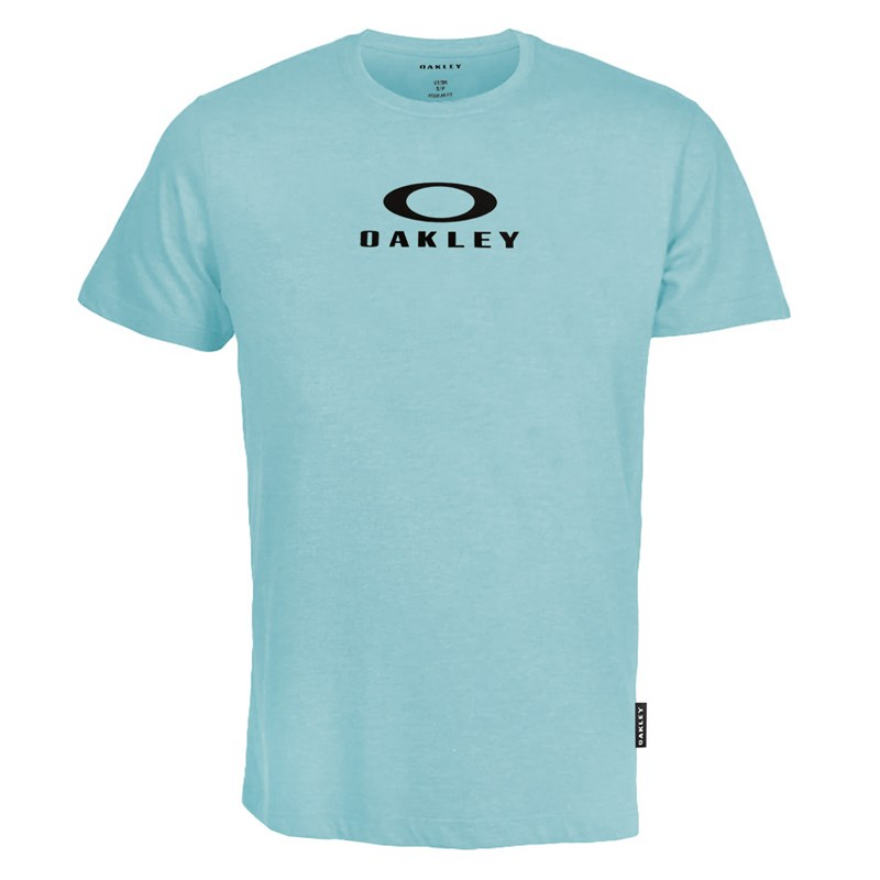Camiseta Oakley Mod Bark New Tee Gray Mist Azul