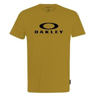 Camiseta Oakley O-Bark SS Bege Escuro