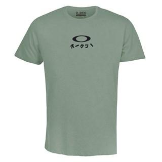 Camiseta Oakley O-Rec Shibuya Verde Mescla